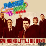 Swinging Little Big Band to Play Rat Pack-style Swing Jazz at Poker in the Park