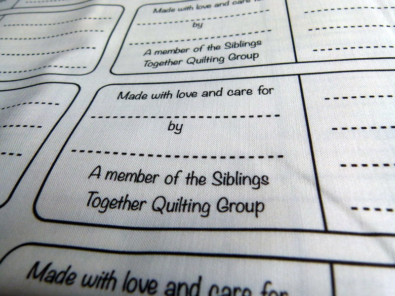 Siblings Together Quilt Labels