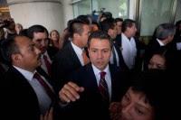 El aspirante presidencial priista, Enrique Peña Nieto. Foto: Miguel Dimayuga