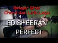 Ed Sheeran Perfect Chord/Kunci Gitar dan Lirik Lagu YouTube