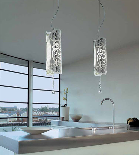 Modern Italian Lamp from Gallery Vetri - Charme lamp will enhance