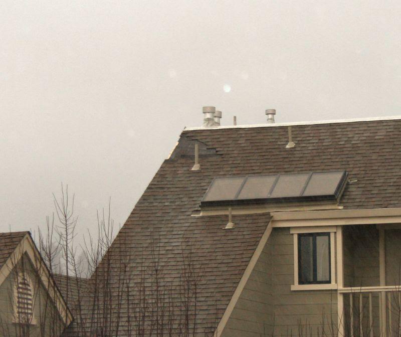 Neighbor's Roof Damage