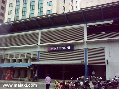 Kerinchi Main Entrance