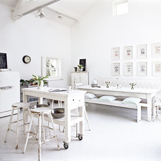 Kitchen-diner | All-white extended cottage | Real Home | Livingetc house tour | PHOTO GALLERY | Housetohome