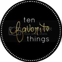 Grab button for Endlessly BeLoved, Ten favorite things, new year, blog