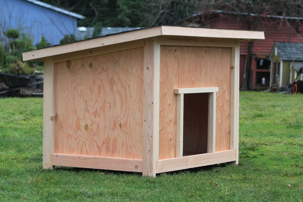 Diy Easy Dog House Plans Craft Ideas