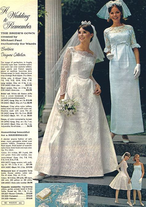 Wedding by Montgomery Ward! Michael Paul designed gowns