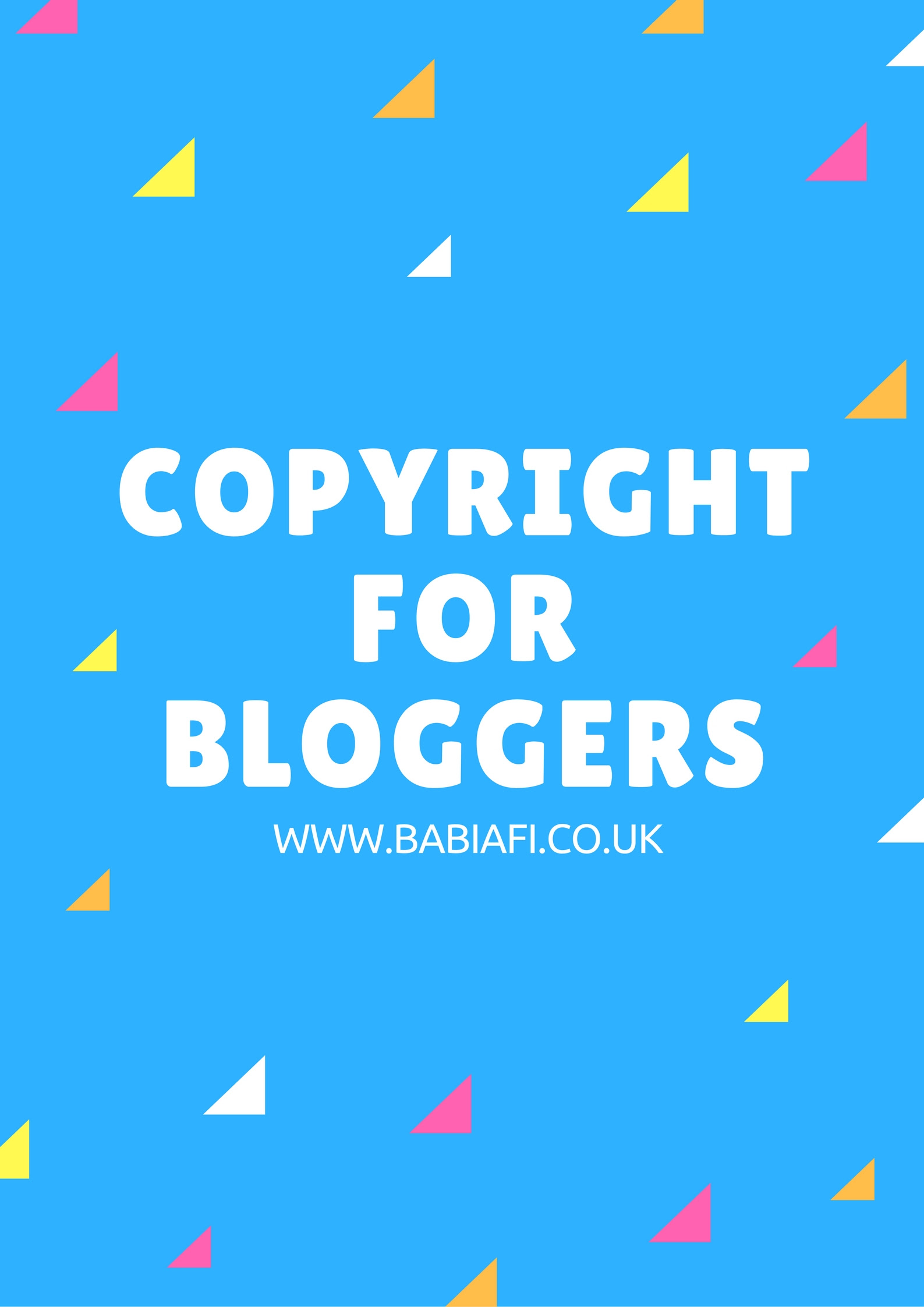 Copyright for Bloggers