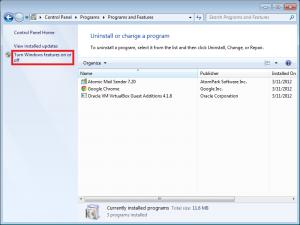 Enable Telnet client on Windows 7 and Windows Server 2008