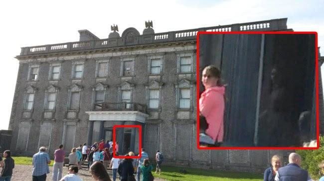 fantasma nina mansion Fotografían el fantasma de una niña en la mansión irlandesa de Loftus Hall