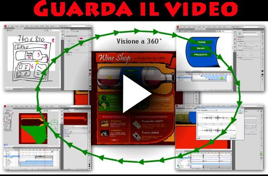 Sito Web Flash CS4 e CS5