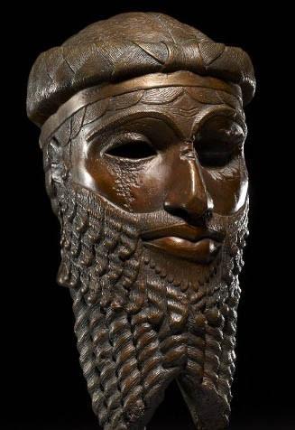 Roi mésopotamien (XXIVe s. av. J.-C.) trouvée à Ninive, Londres, British museum