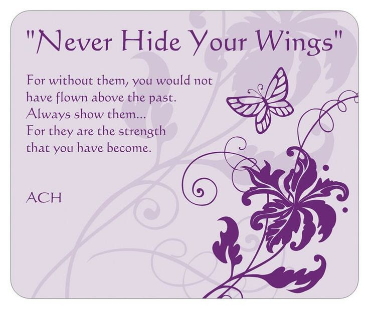 Butterfly Quotes Never Hide Your Wings Quotespicturescom