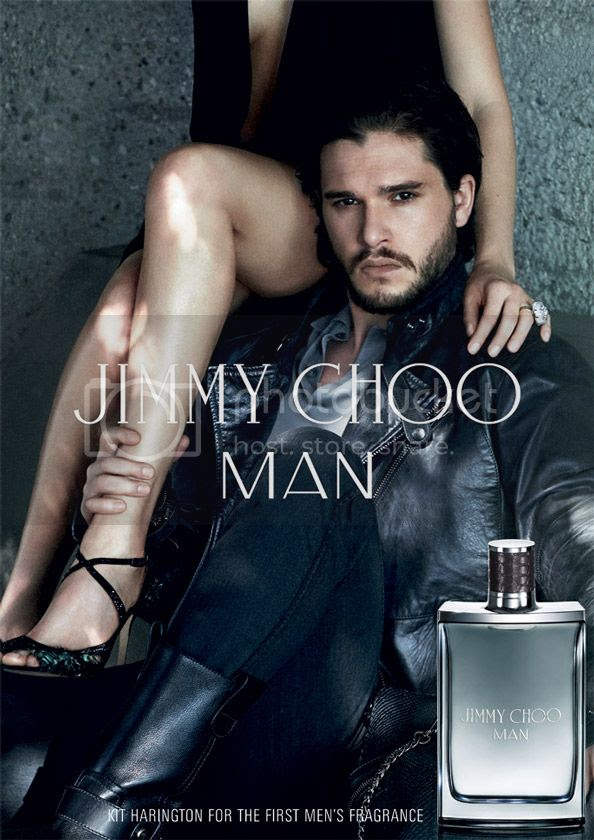 Game of Thrones' Jon Snow on Jimmy Choo's First Men's Fragrance Ad photo jimmy-choo-fragrance-KIT-HARINGTON_zps95e1b240.jpg