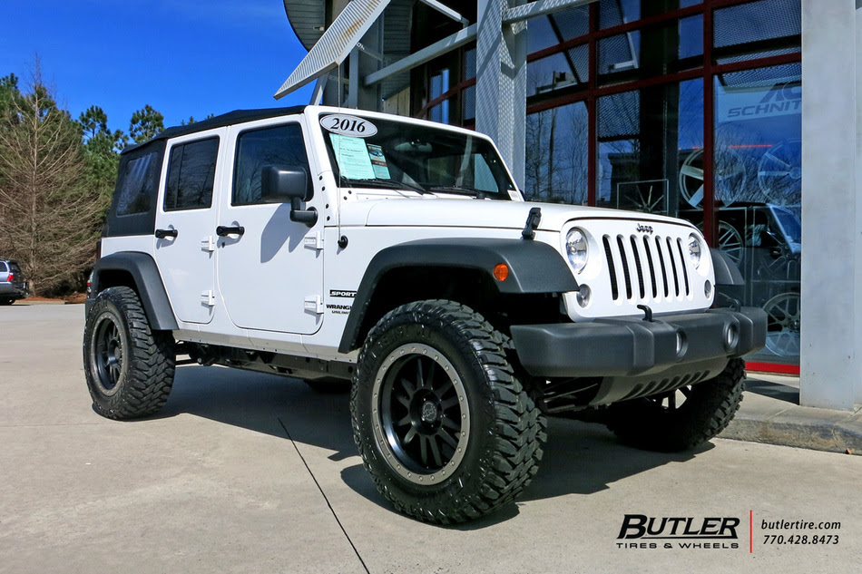 Jeep Wrangler With 20in Black Rhino Tanay Wheels Exclusively From Butler Tires And Wheels In