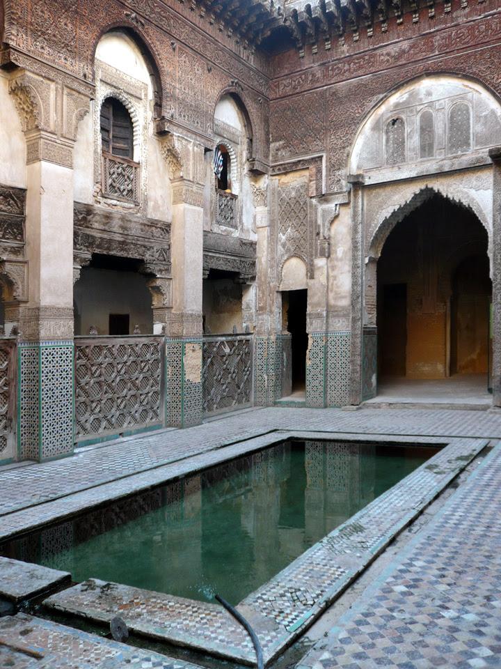 Medersa del barrio de los andaluces (Fez)