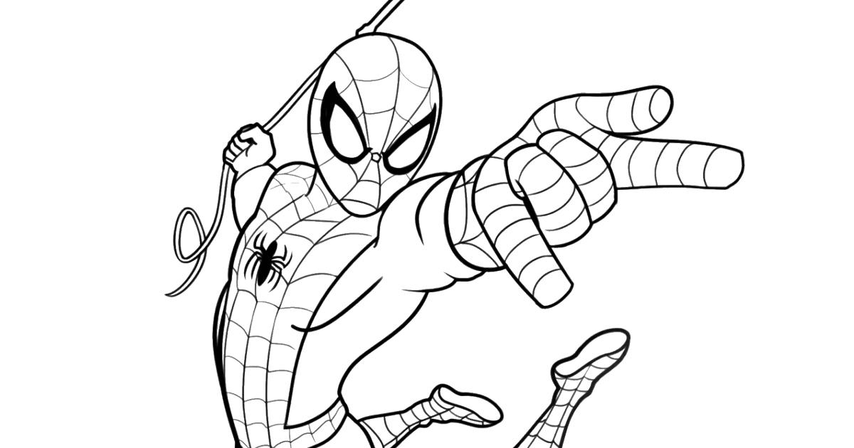 Dessin Colorier Spiderman / Apprendre A Dessiner Moto ...