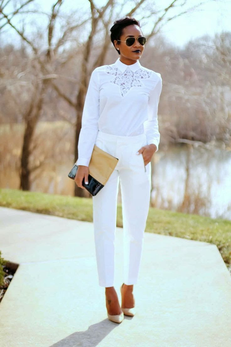 all white office outfit ideas 2020  fashiontasty