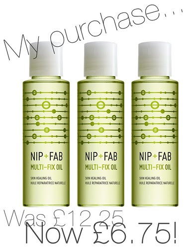 Nip + Fab Multi Fix Oil