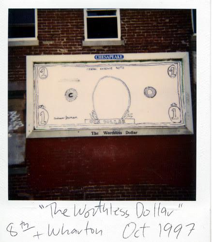 the worthless dollar