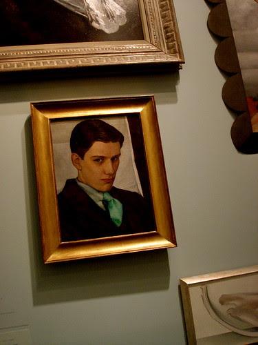 """Portrait of Paul Cadmus"""
