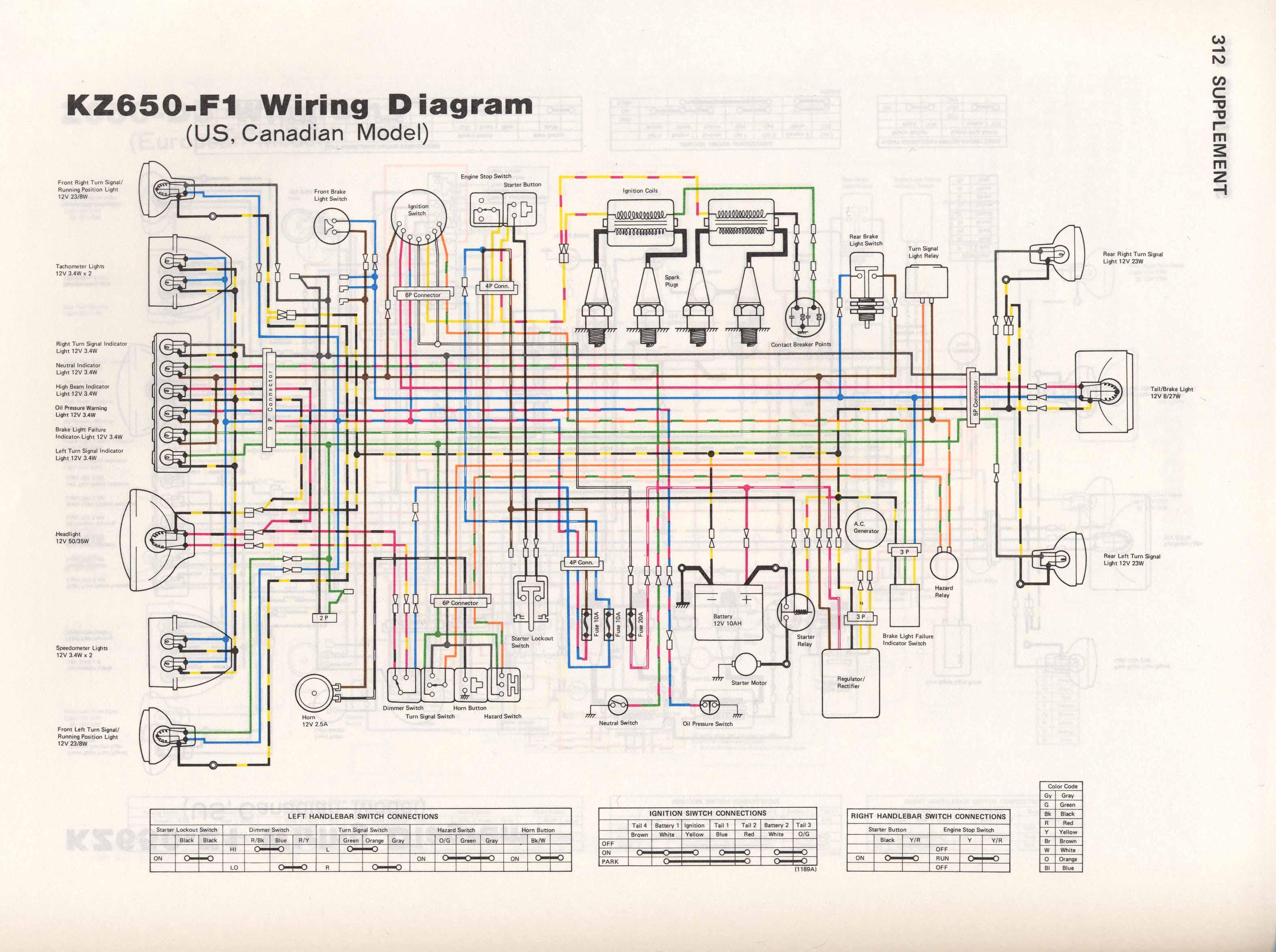 kz750 h1 wiring diagram image 7