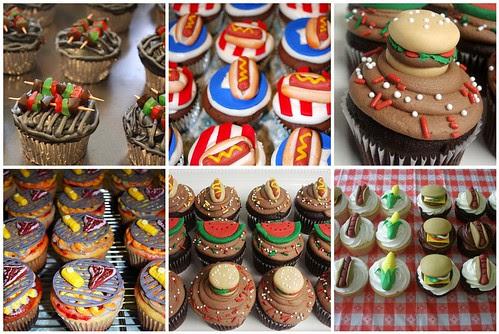 bar-b-que cupcakes!