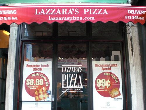 Lazzara's storefront