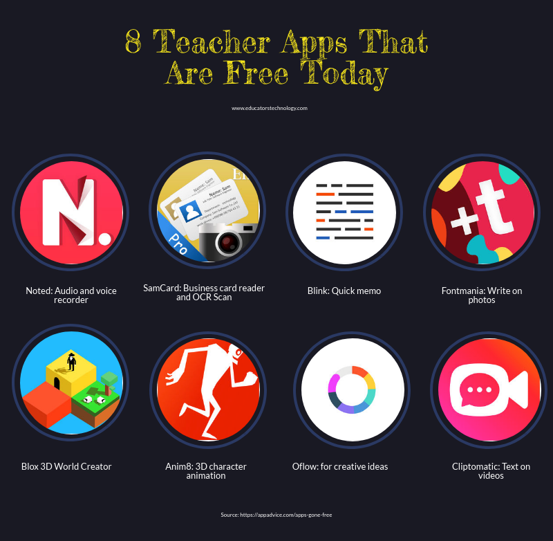 8 Teacher Apps That Are Free Today