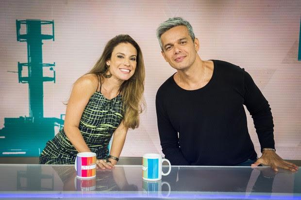 Maíra Charken é a nova integrante do Vídeo Show (Foto: Reprodução / Tv Globo)