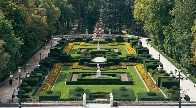 Resultado de imagen de Jardines de la Granja de San Ildefonso
