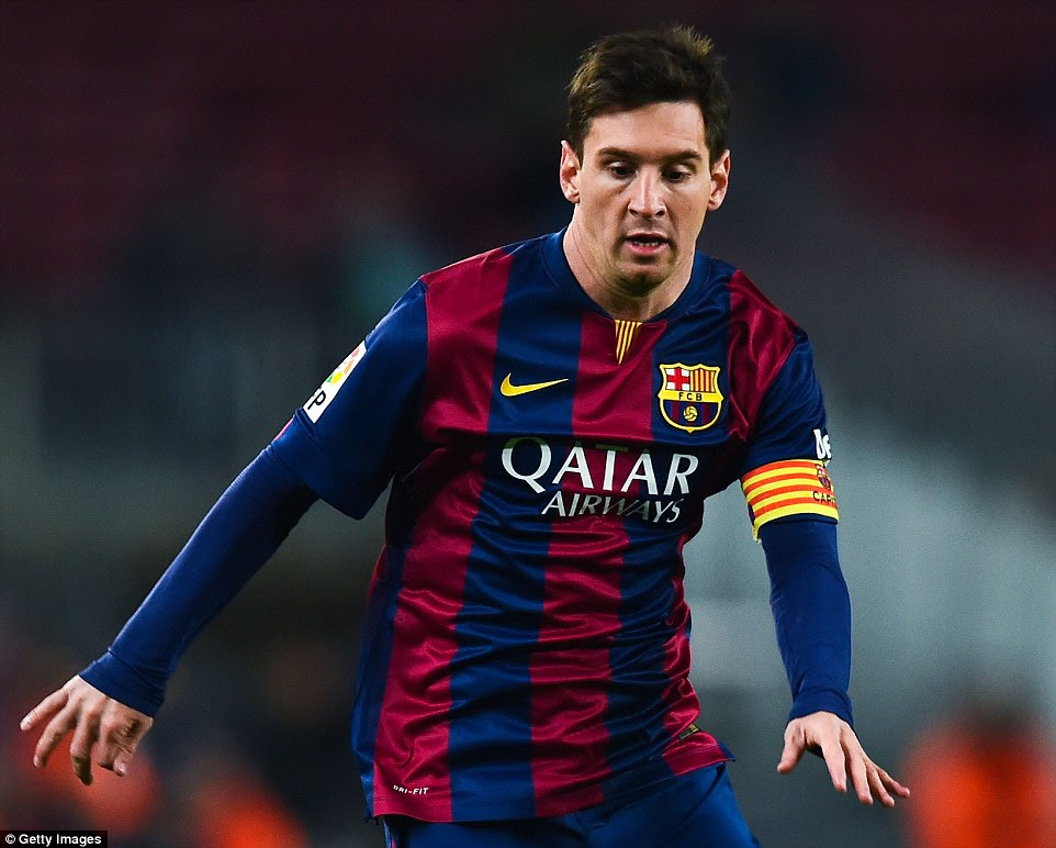 More records fell in 2014-15: Messi became all-time La Liga top scorer and the top scorer in Champions League history