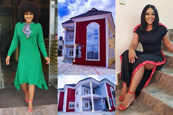 Mercy Aigbe fires back -I bought my mansion with my hard work'