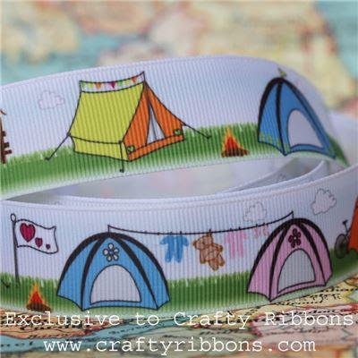 Summer Festival - Camping Tent Ribbon