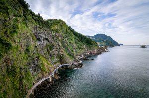 Uleung Island Seaside Road