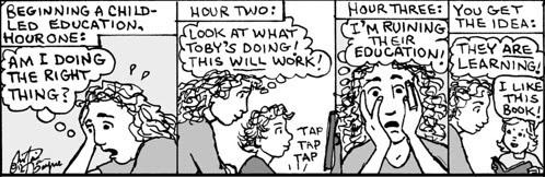 Home Spun comic strip #763