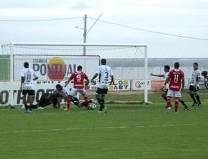 Corintians-RN vence o América-RN no Estádio Nazarenão, em Goianinha (Foto: Jocaff Souza)