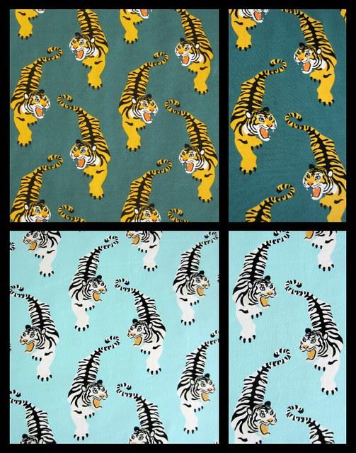 tiger collage 2