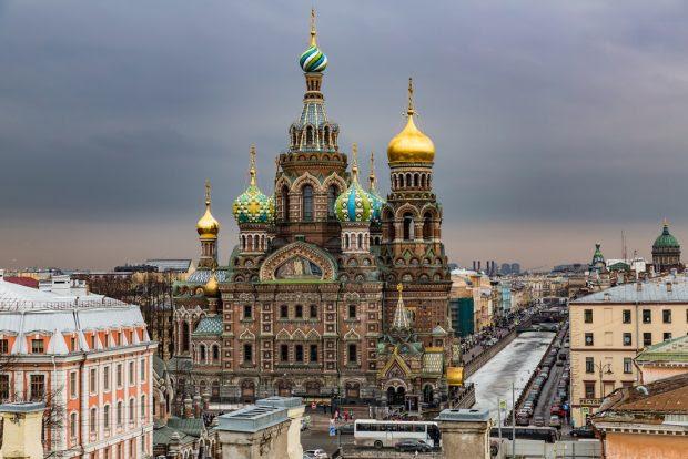 November in Saint Petersburg, Russia