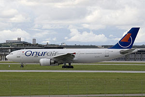 an Onur Air Airbus A300