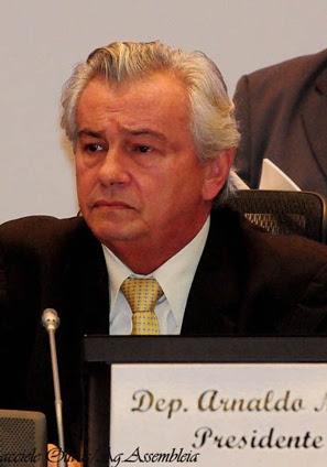 Presidente da AL-MA, Arnaldo Melo