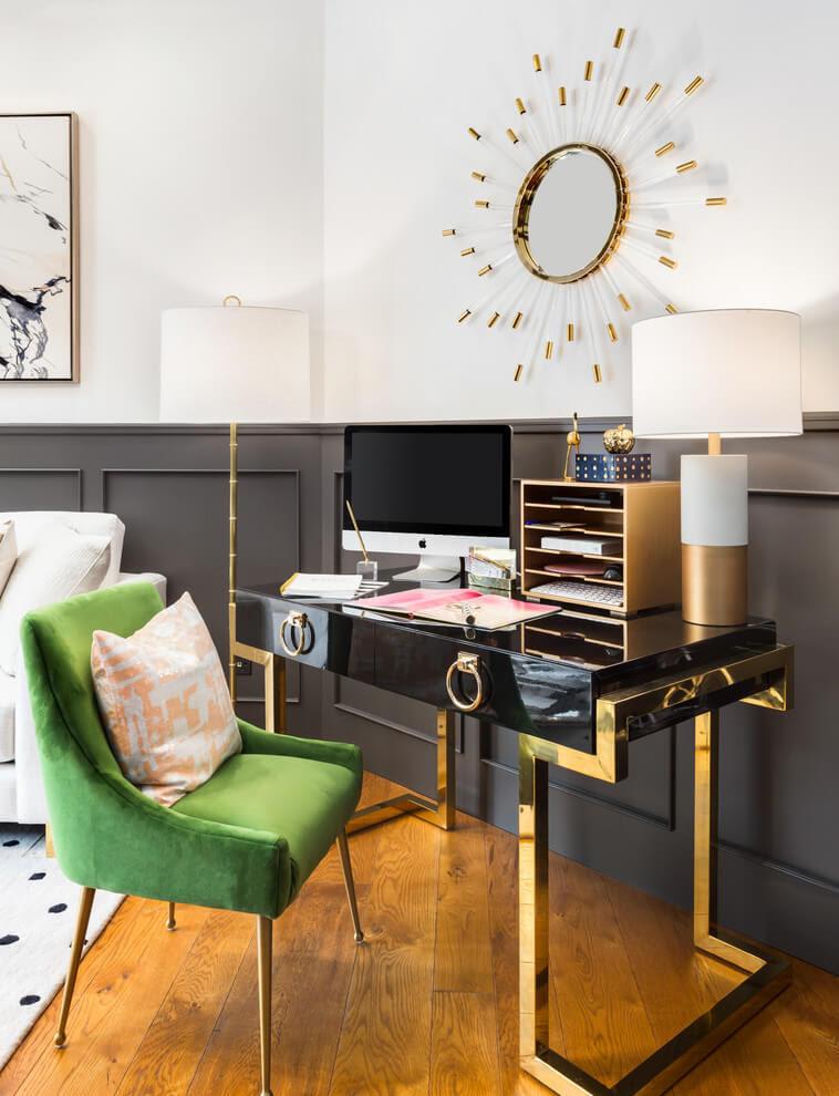 Very Good Idea Modern Small Office Decor Ideas