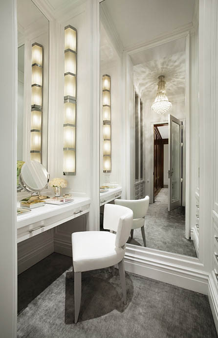Dressing table inspiration lighting tips makeup savvy makeup closet contemporary closet aloadofball Gallery