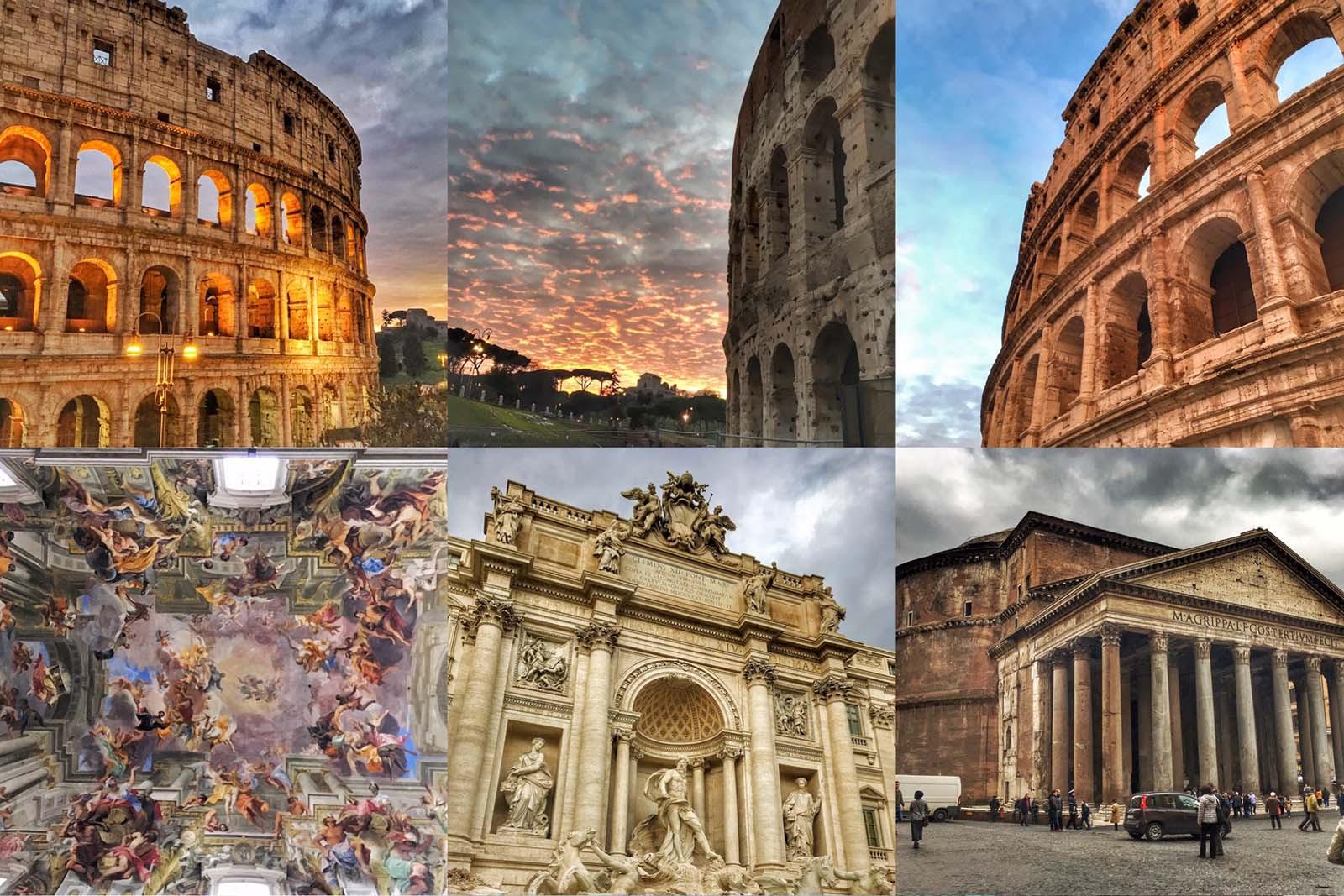 Passeando por Roma