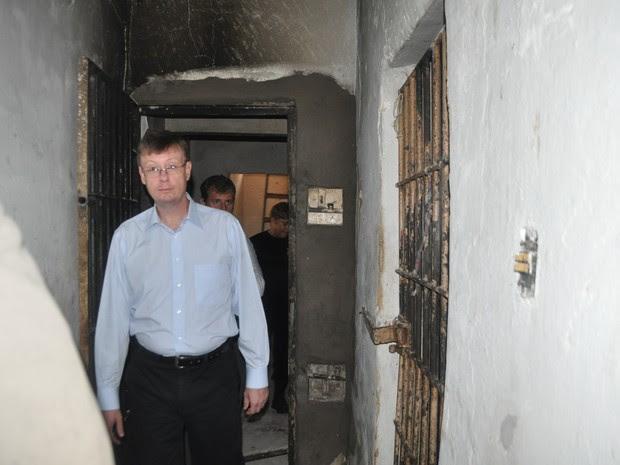 Juiz Luciano Losekann visitou unidade prisionais em Natal (Foto: Tasso Pinheiro/TJRN)