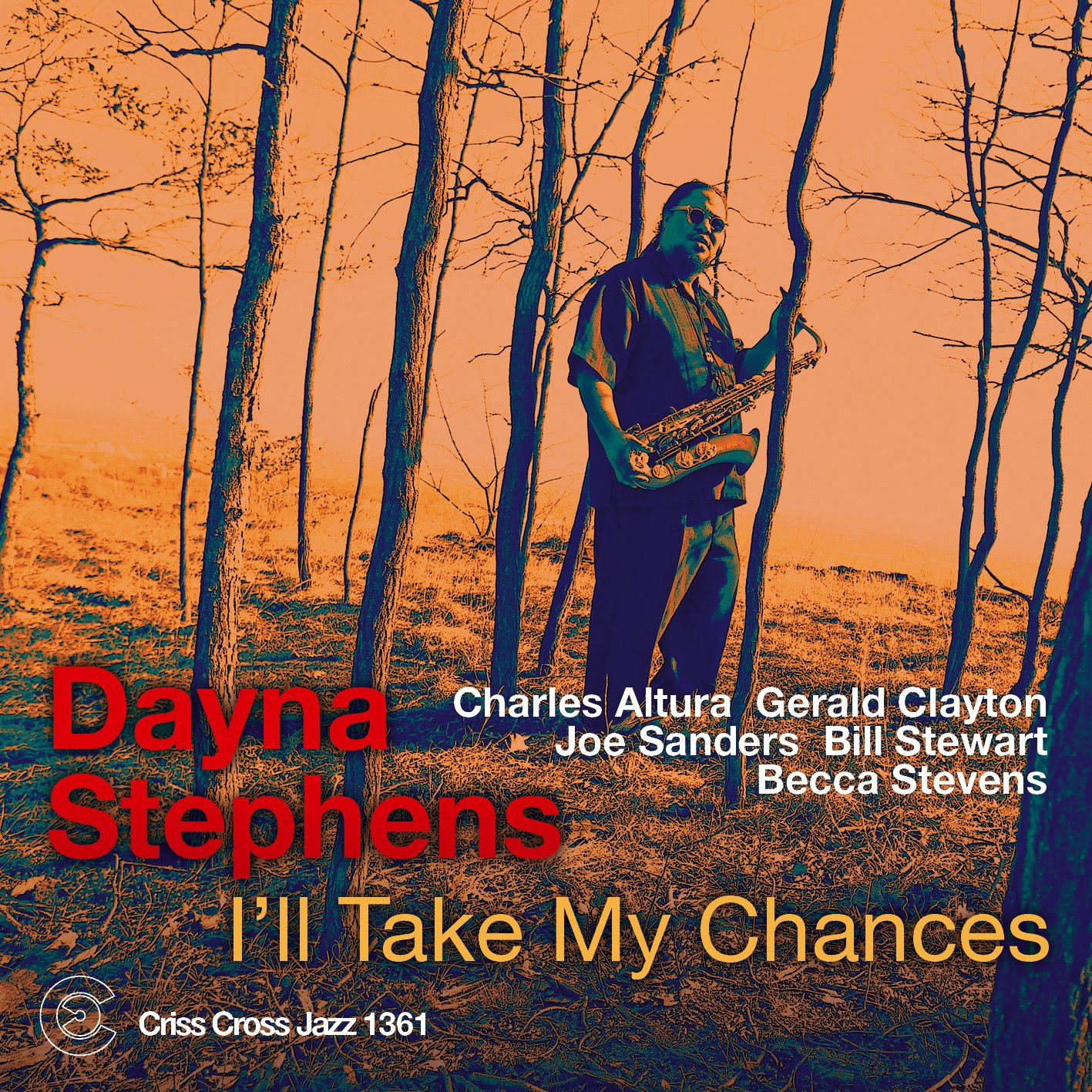 Dayna Stevens - I'll Take My Chance cover