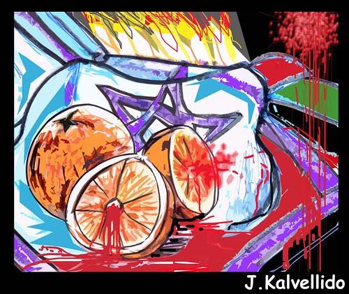 No comas naranjas manchadas de sangre par Kalvellido