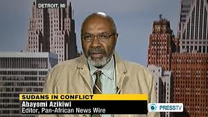 Abayomi Azikiwe, editor of the Pan-African News Wire, featured on Press TV News Analysis discussing the rising tension between North Sudan and South Sudan on April 19, 2012. Azikiwe reviewed the history of this African state and the role of imperialism. by Pan-African News Wire File Photos