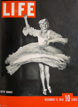 Betty Grable Life Magazine