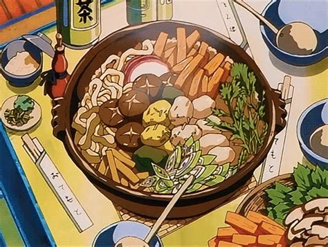 pin  shirley shum  anime food anime aesthetic anime